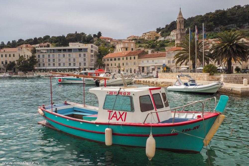 Visiter les îles entre Dubrovnik et Split - Hvar
