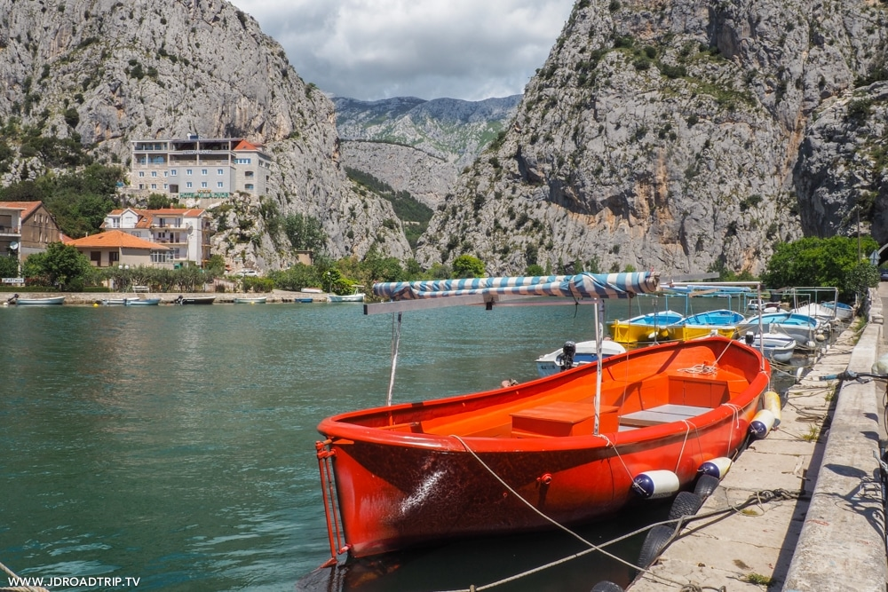 Visiter les îles entre Dubrovnik et Split - Omis