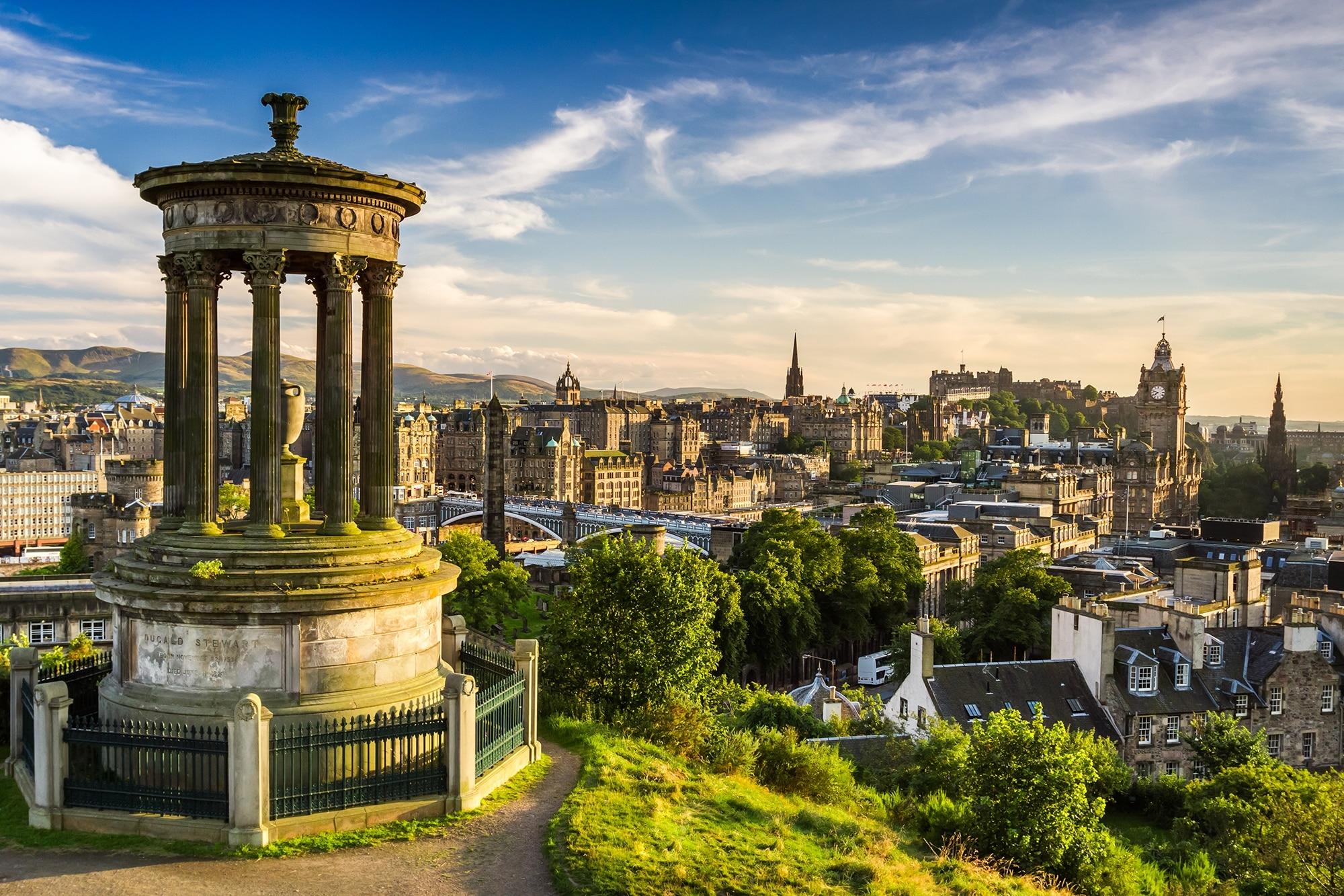 Lieux à visiter en Écosse - Édimbourg