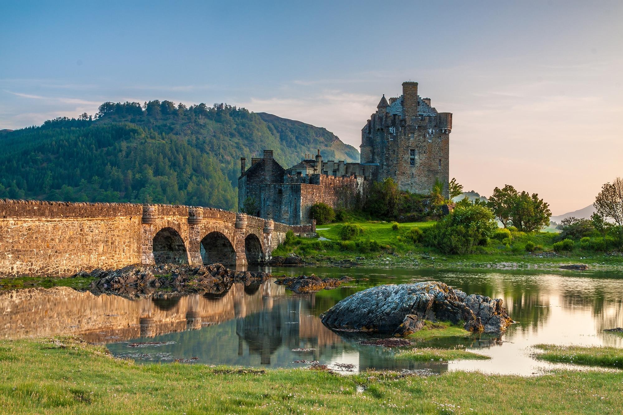 Lieux à visiter en Écosse - Château Eilean Donan