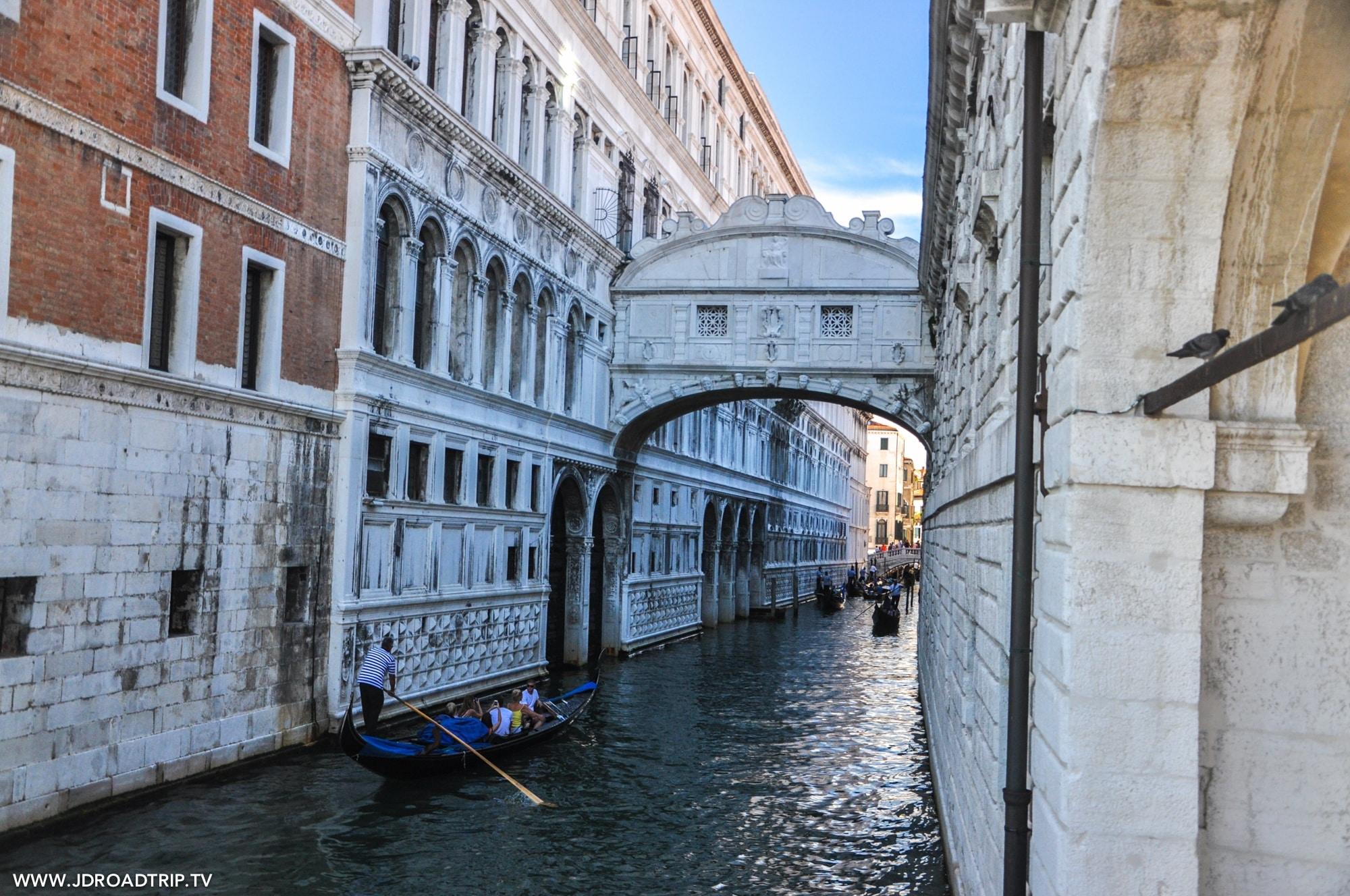 Visiter Venise en 3 jours - Pont des Soupirs