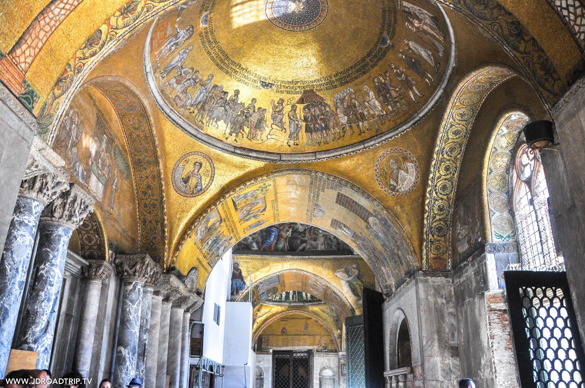 Visiter Venise en 3 jours - Basilique Saint-Marc