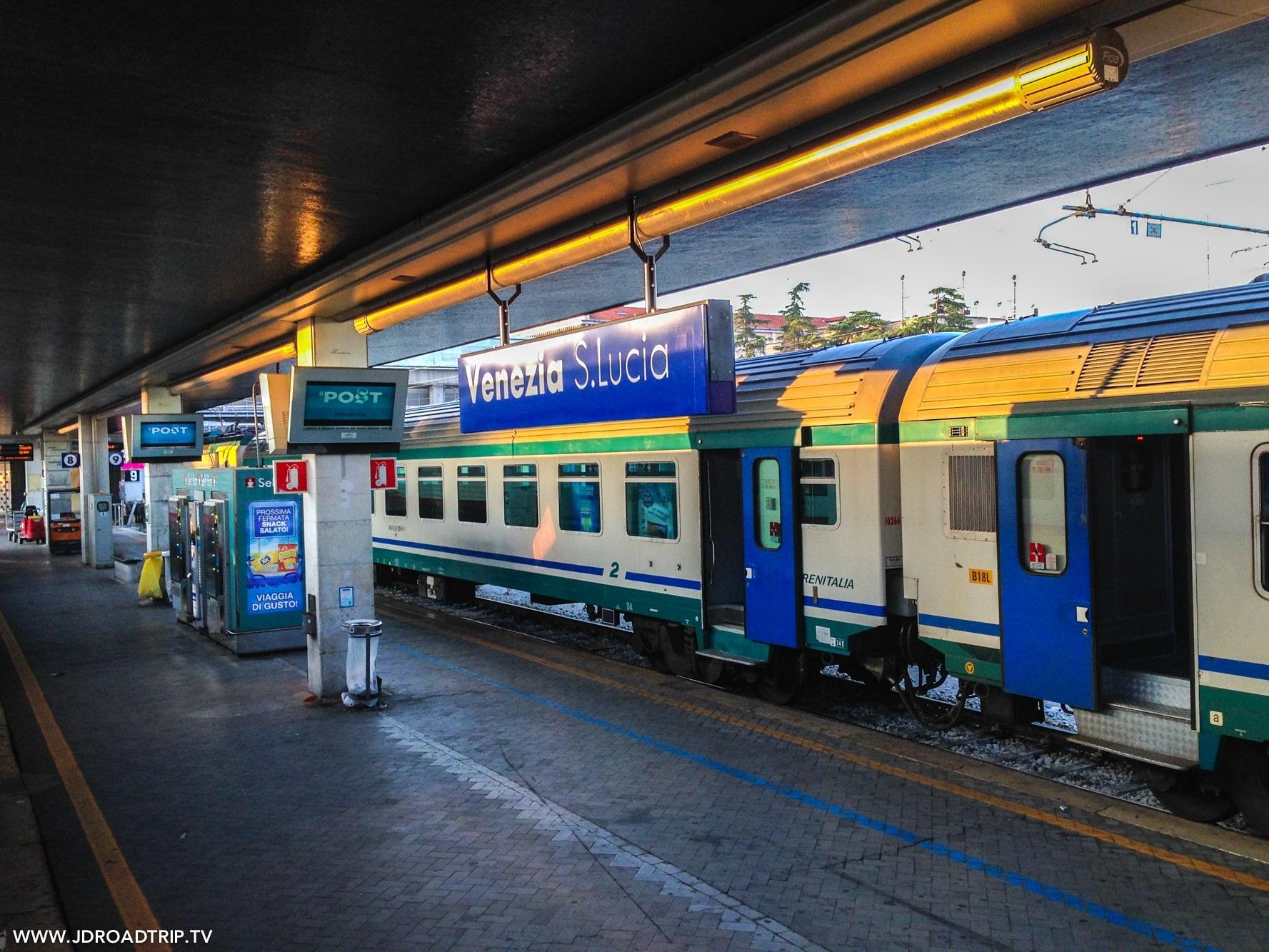 Visiter Venise en 3 jours - Gare