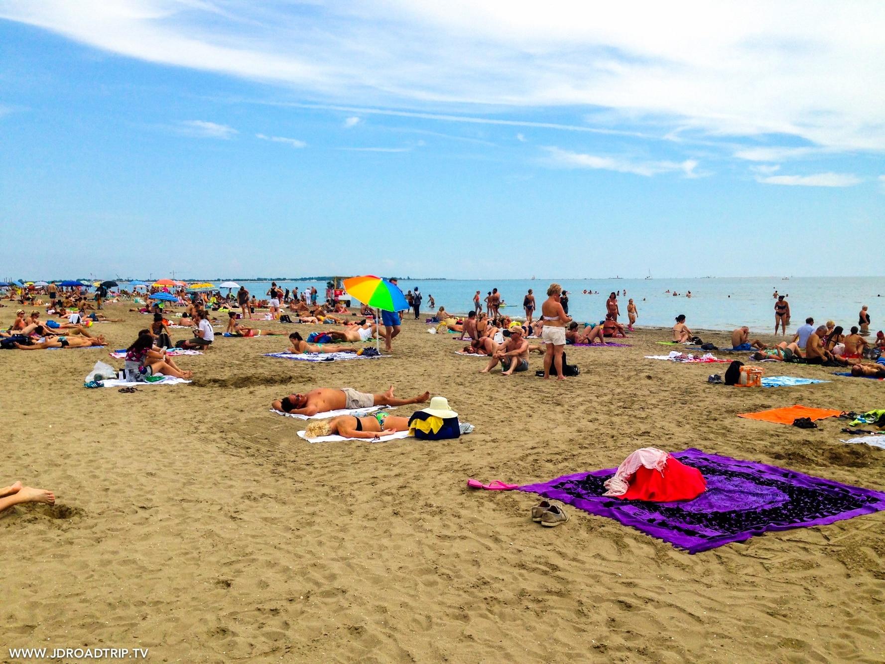 Visiter Venise en 3 jours - Plage de Lido