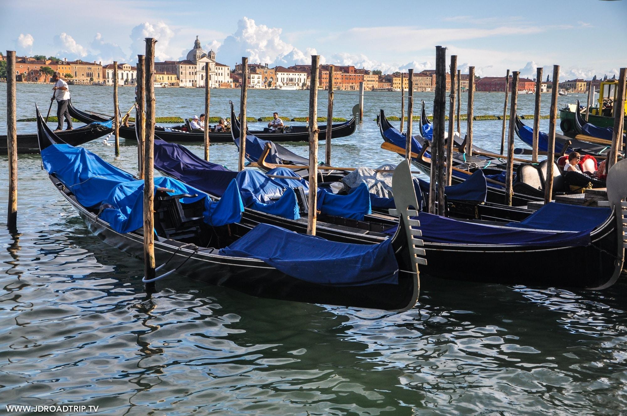 Visiter Venise en 3 jours - Tour en gondole