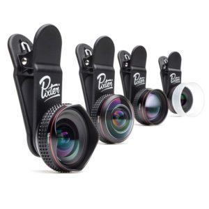Pixter - Objectifs photo pro pour smartphone