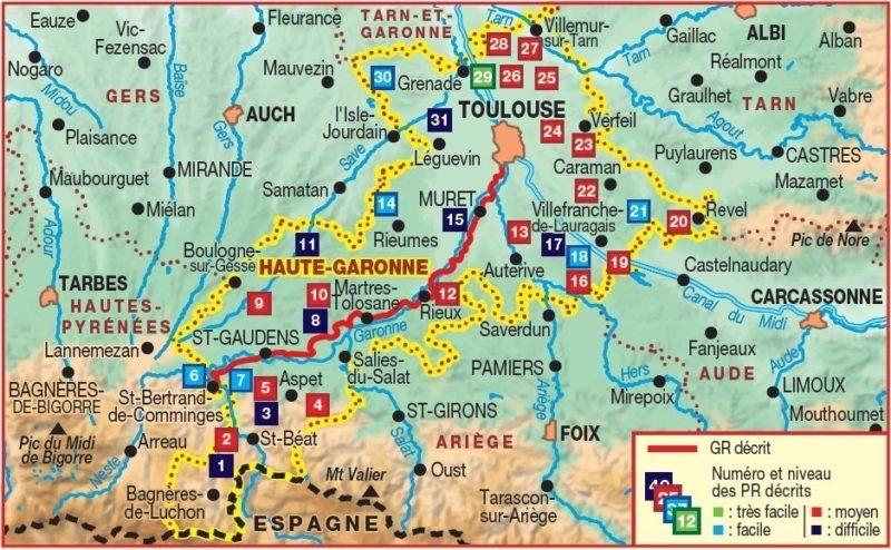 Via Garona Itinéraire