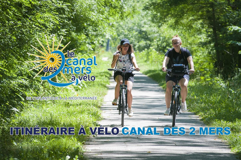 Itinéraire cyclable Canal des 2 mers – De Toulouse à Royan à vélo