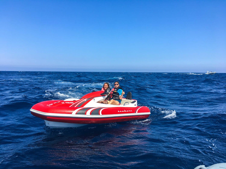 Activités à faire en Côte d'Azur - seakart