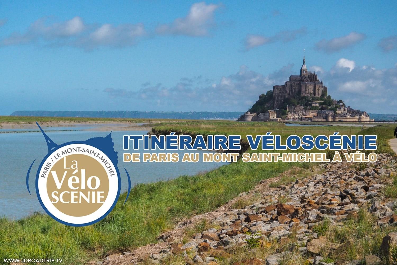 Itinéraire Véloscénie – De Paris au Mont Saint-Michel à vélo