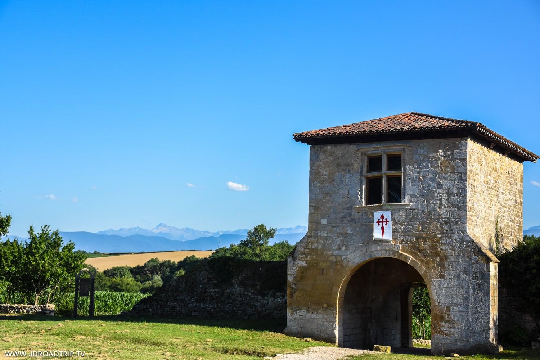 Via Garona - Vue Pyrénées