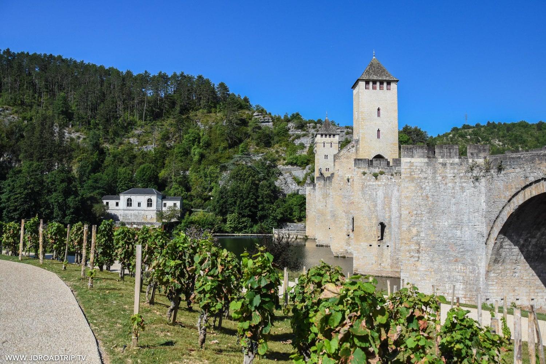 Visiter Cahors et ses environs - Pont Valentré