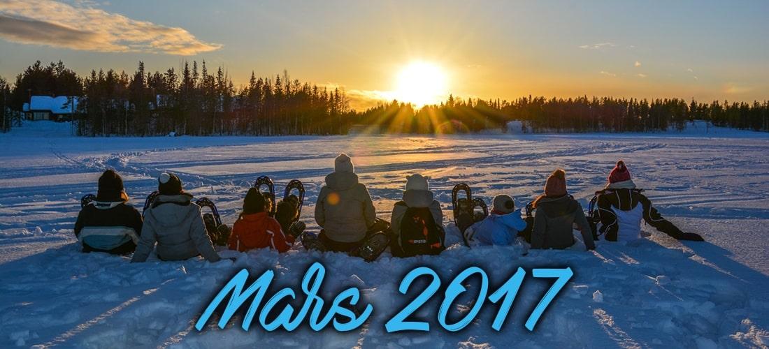 Laponie au féminin - Mars 2017