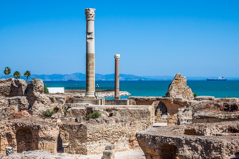 Lieux à visiter en Tunisie - Carthage