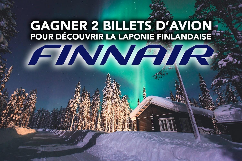 Concours : Gagner 2 billets d'avion pour la Laponie finlandaise