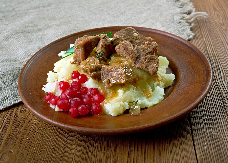 Spécialités culinaires en Laponie - Ragout de rennes