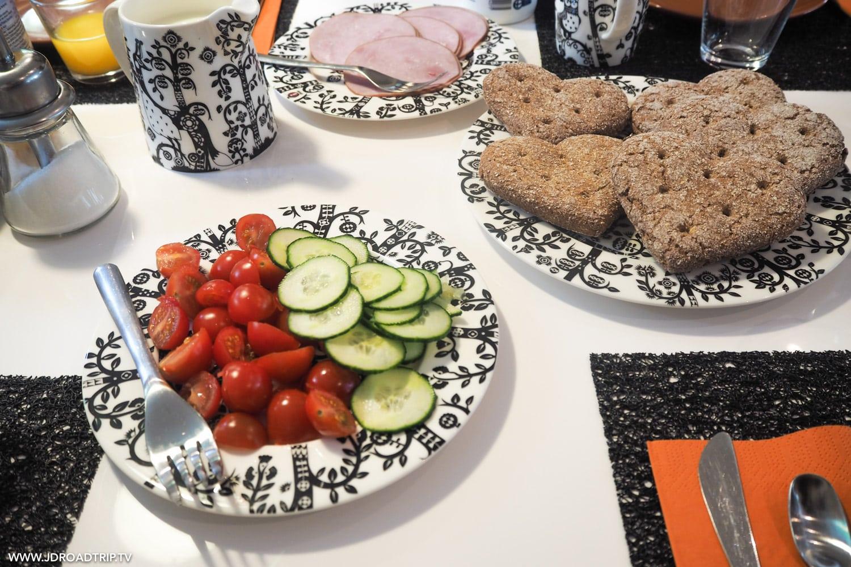 Spécialités culinaires en Laponie - Petit déjeuner