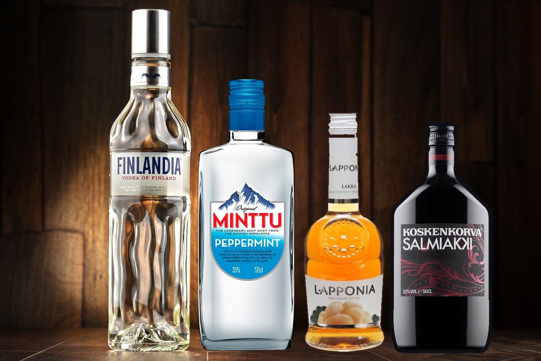Spécialités culinaires en Laponie - Alcool finlandais