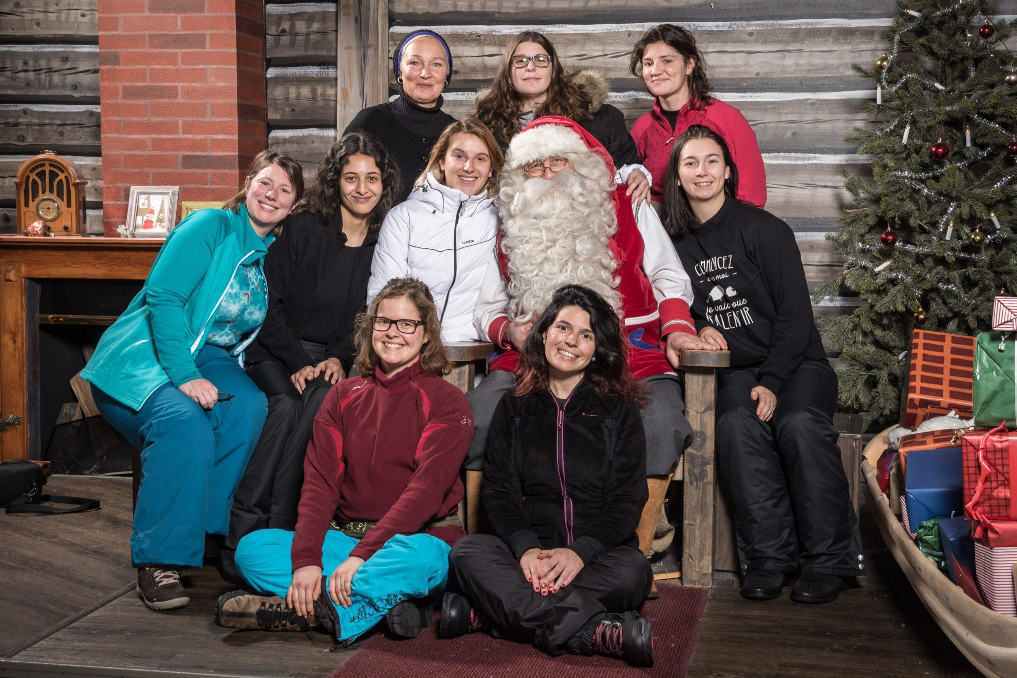 Visiter le village du père Noël à Rovaniemi - Photo père Noël
