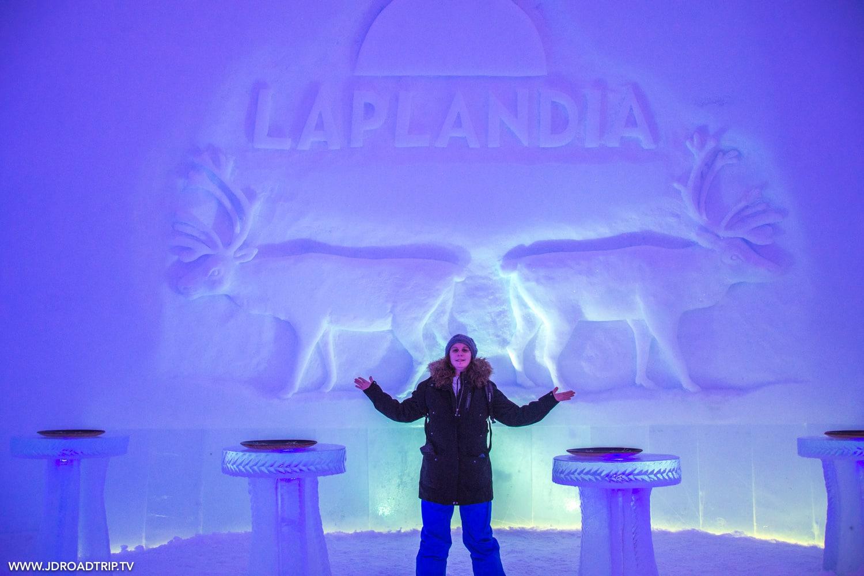 Visiter le village du père Noël à Rovaniemi - Ice bar