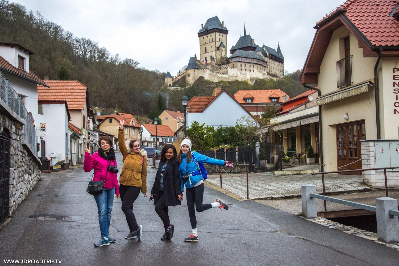 visiter Prague avec 8 filles de ma communauté