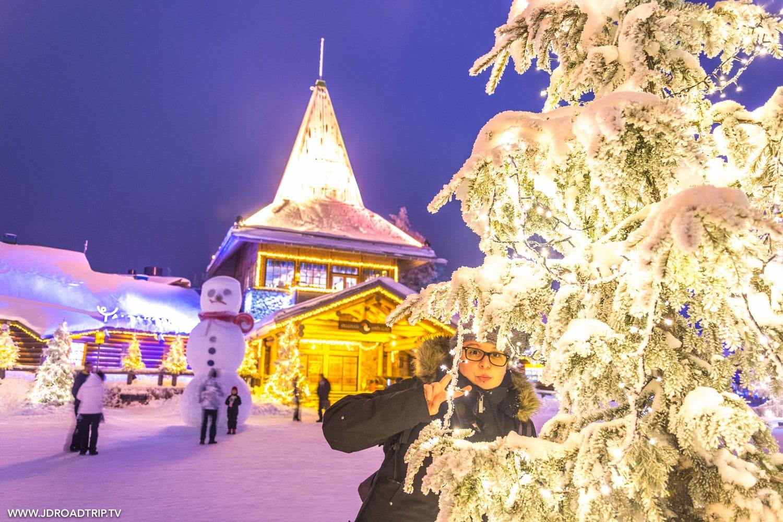 Visiter le village du père Noël à Rovaniemi