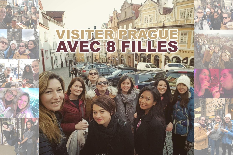 Partir visiter Prague avec 8 filles de ma communauté
