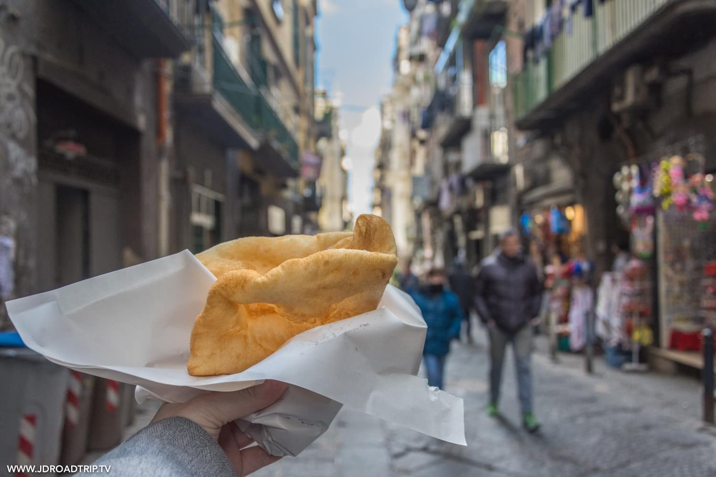 Bonnes adresses où manger à Naples - Pizza Frit