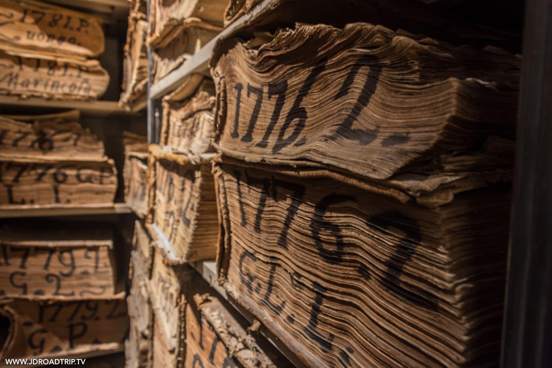 visiter Naples - Archives de la banque de Naples