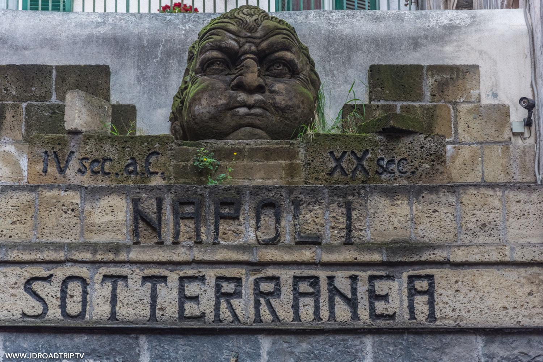 visiter Naples - Souterrain de la ville