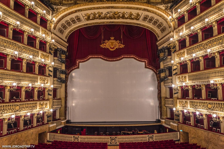 Visiter Naples en 6 jours - Théâtre San Carlos