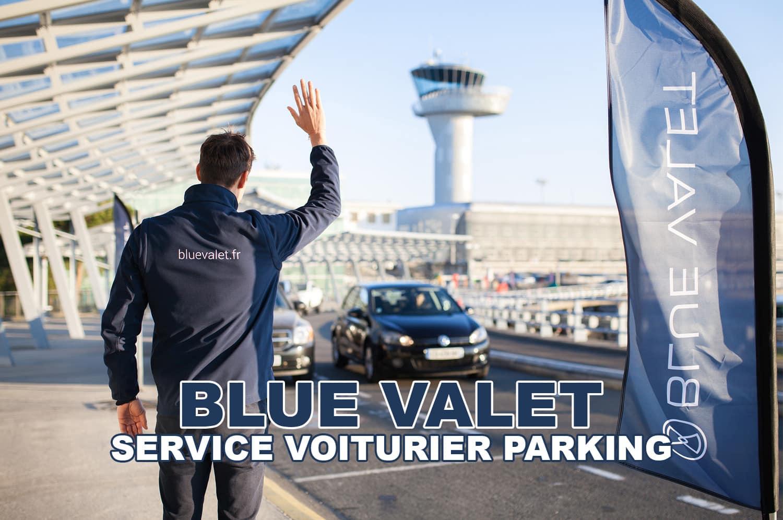 Blue Valet – Service de parking avec voiturier à l'aéroport