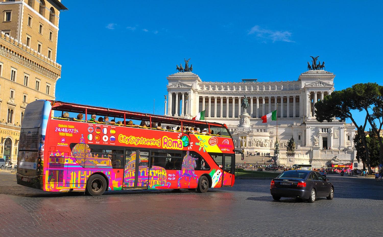 Visiter Rome en 4 ou 5 jours - Bus Hop-On Hop-Off