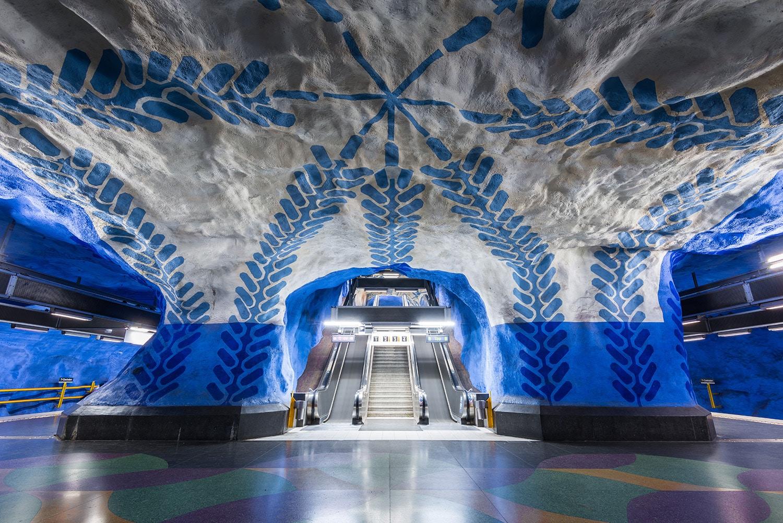 Conseils pour organiser son séjour à Stockholm - Métro