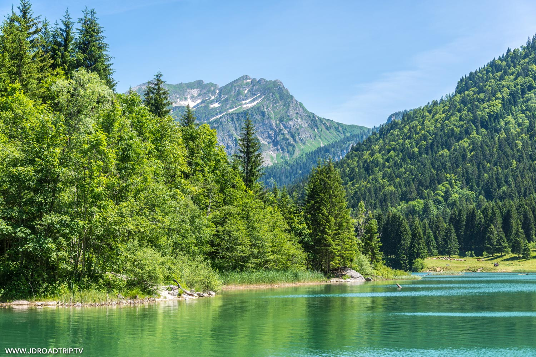 Séjour dans les Alpes du Léman - Lac Vallon