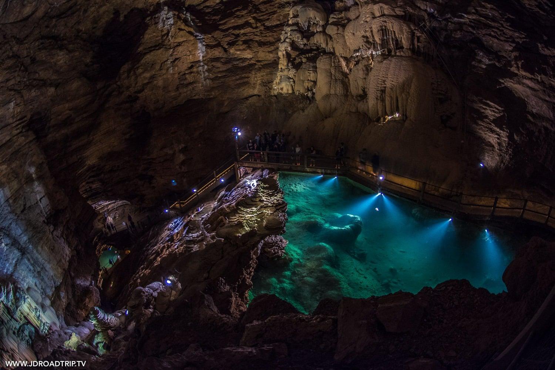 Grottes et gouffres à voir dans la région du Lot - Padirac