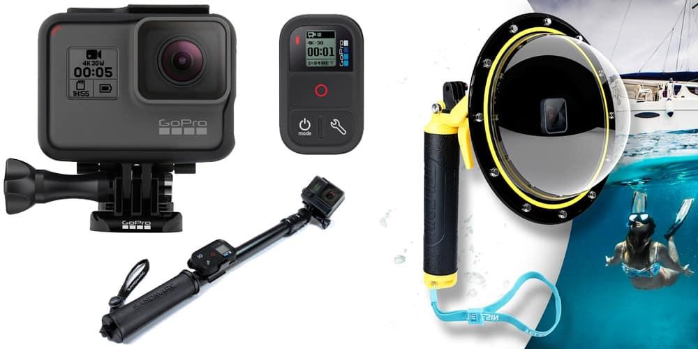 Équipement photo et vidéo pour mes voyages - GoPro