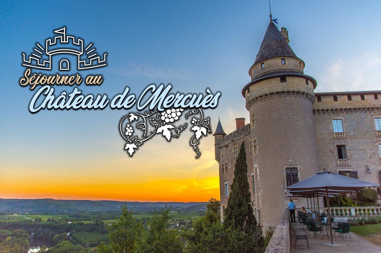Visiter le château de Mercuès