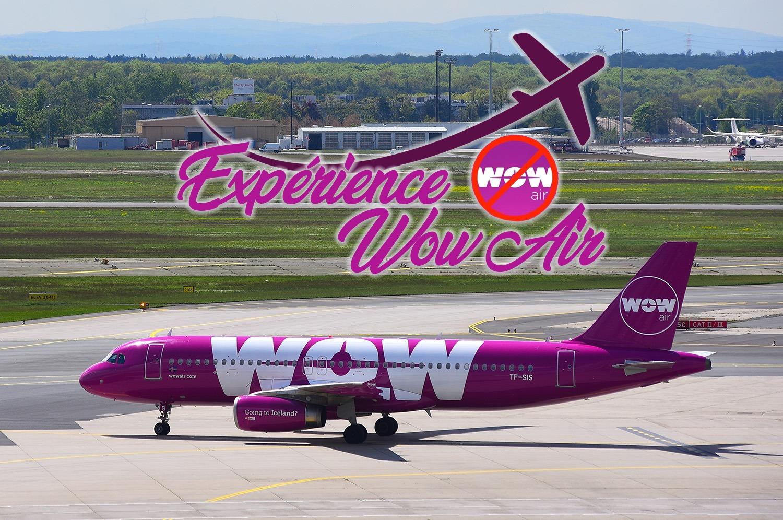 Éxpérience avec Wow Air – Montréal à Paris