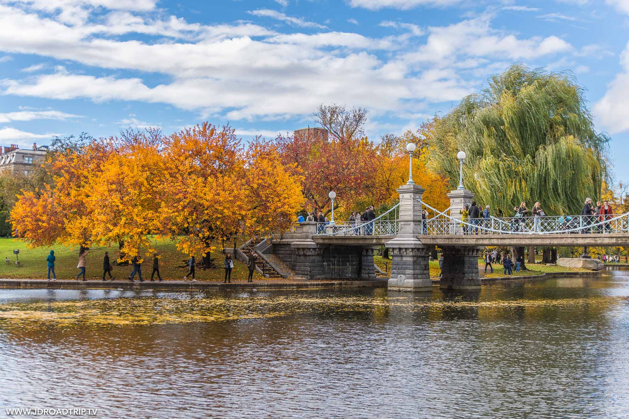 Visiter Boston en 4 jours - Public Garden de Boston