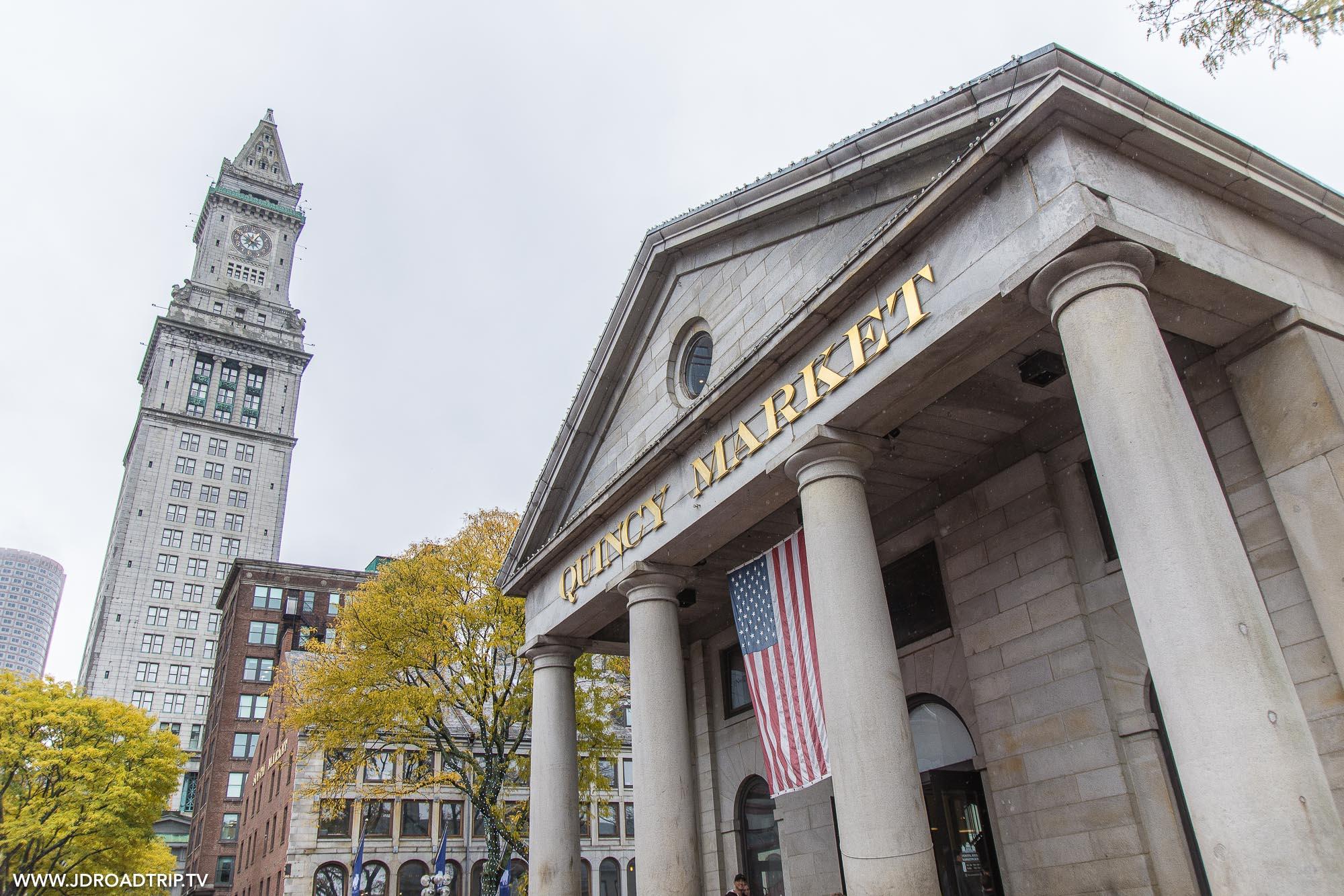 Visiter Boston en 4 jours - Quincy Market