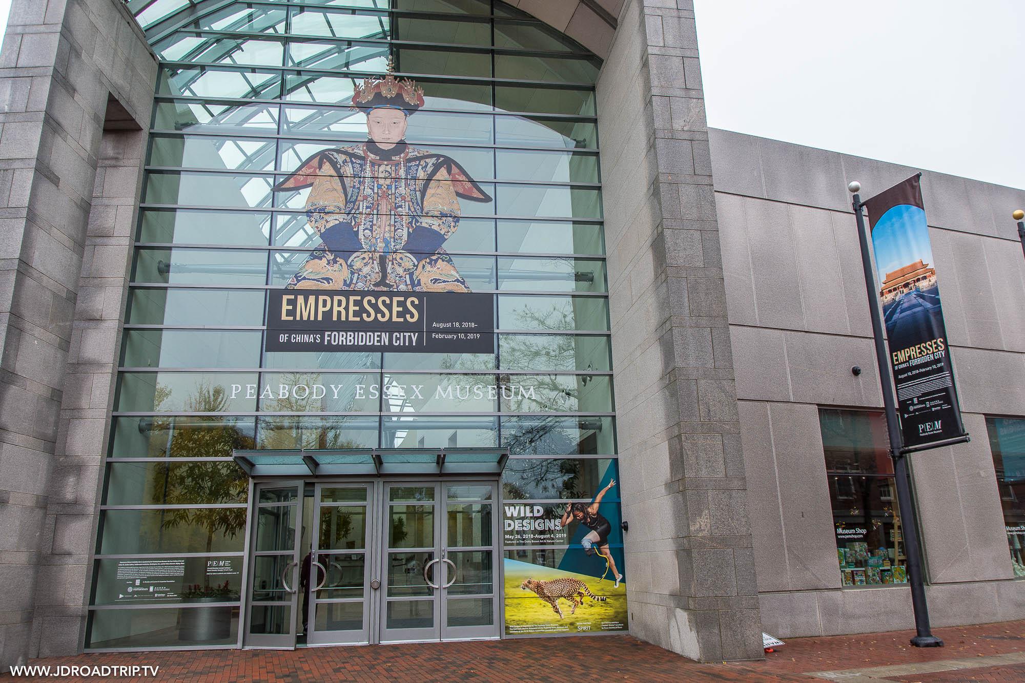 Passer une journée à visiter Salem - Musée Peabody Essex
