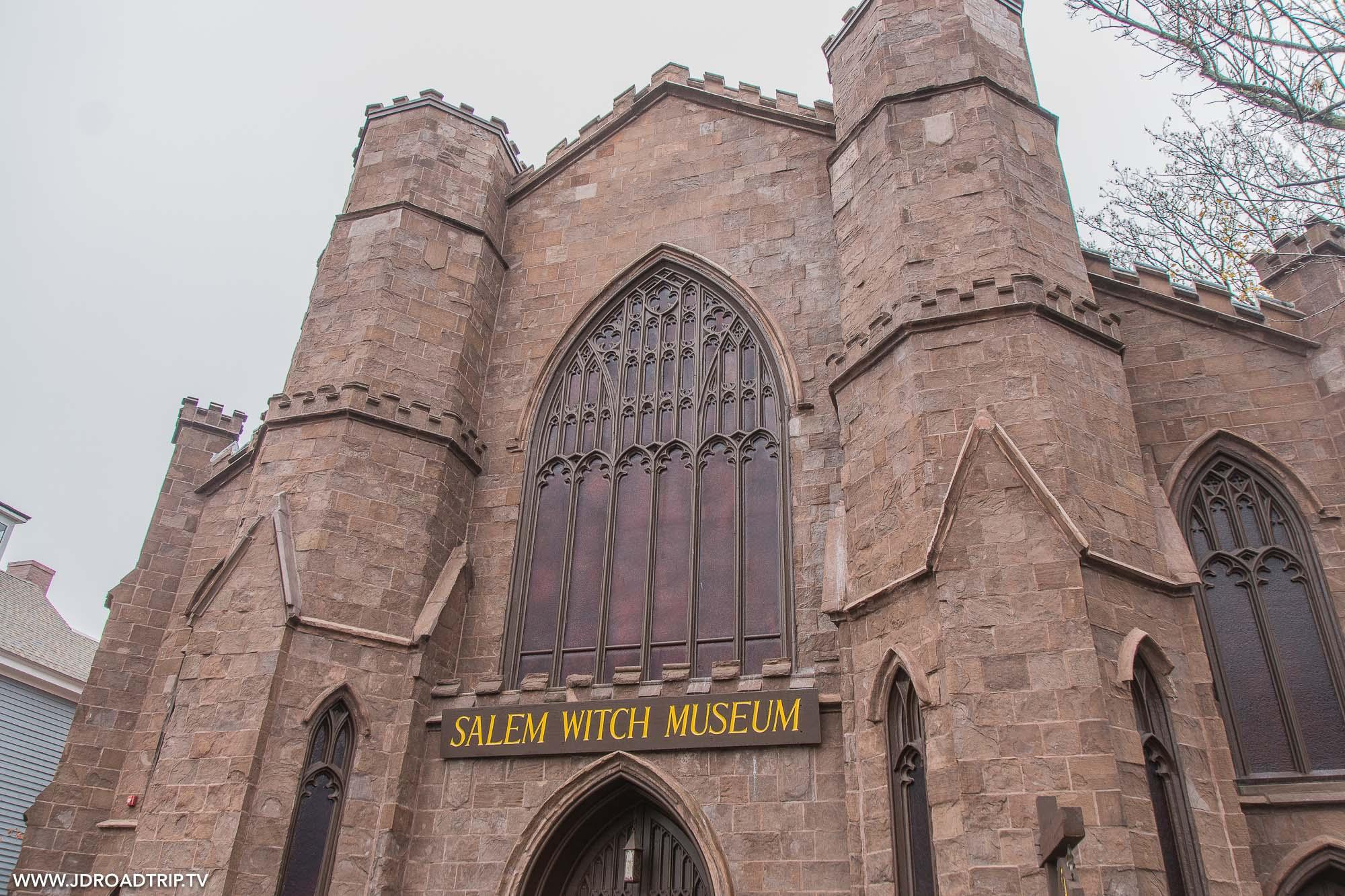 Passer une journée à visiter Salem - Musée des sorcières