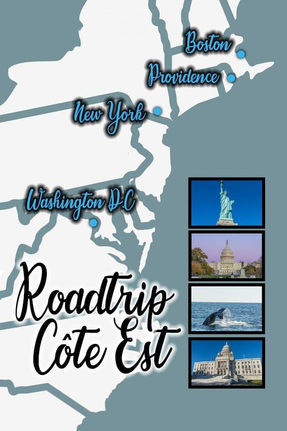 roadtrip entre Boston et Washington