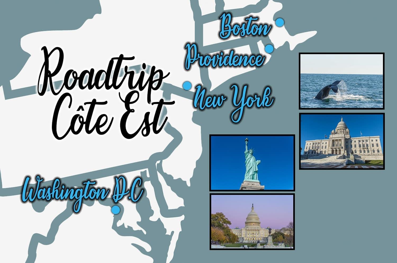 Côte Est des États-Unis, roadtrip entre Boston et Washington