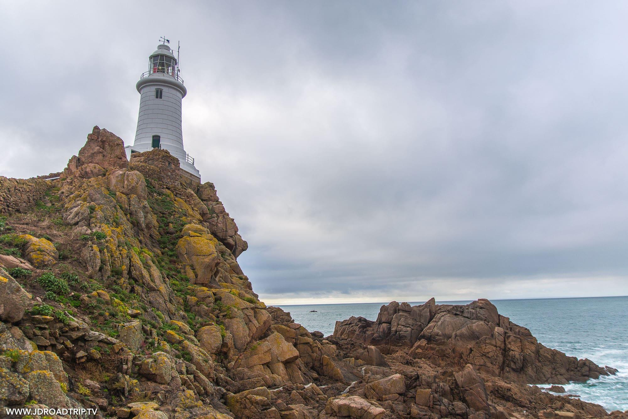 Visiter Jersey en 3 jours - Phare La Corbière