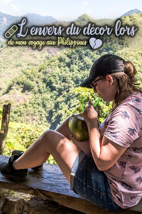L'envers du décor lors de mon voyage aux Philippines