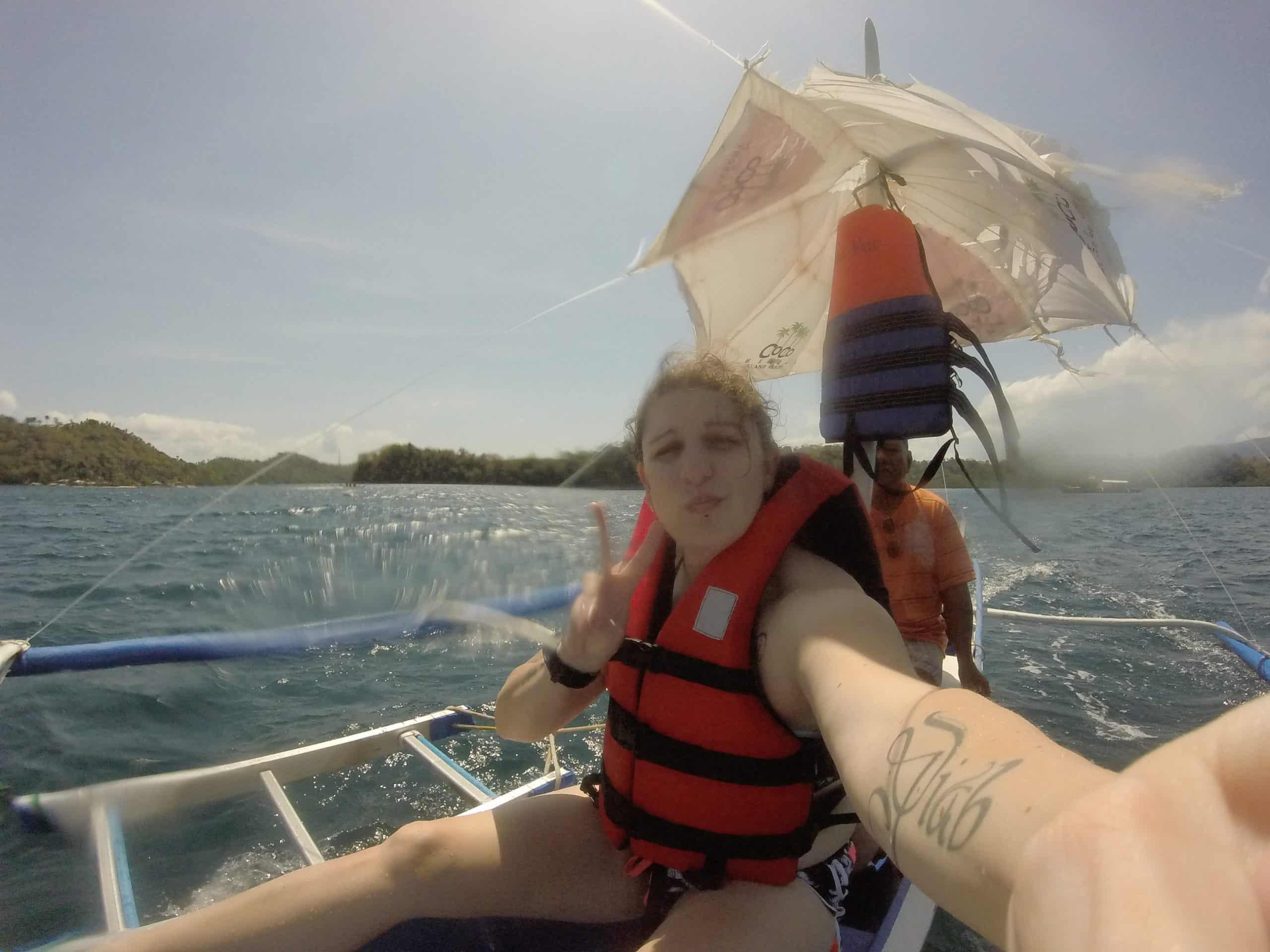 faire du snorkeling à Coral Garden sur l'île Mindoro