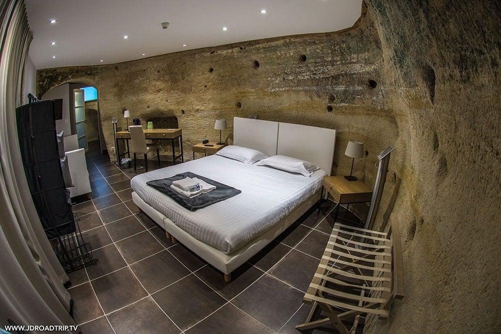 Visiter Saumur - Hôtel Troglodyte Rocaminori