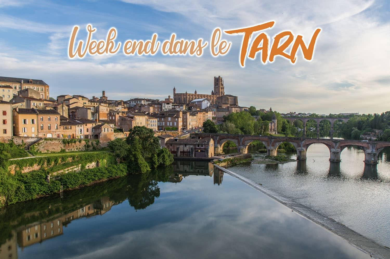 Week-end dans le Tarn, visiter Albi et ses alentours